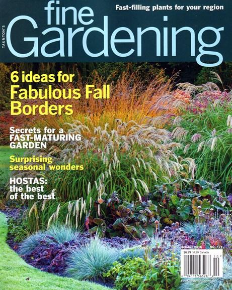 Fine Gardening Cover - 10/1/2016