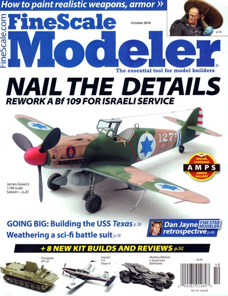 Finescale Modeler Cover - 10/1/2016