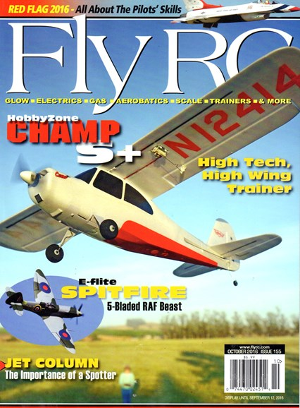 Fly RC Cover - 10/1/2016