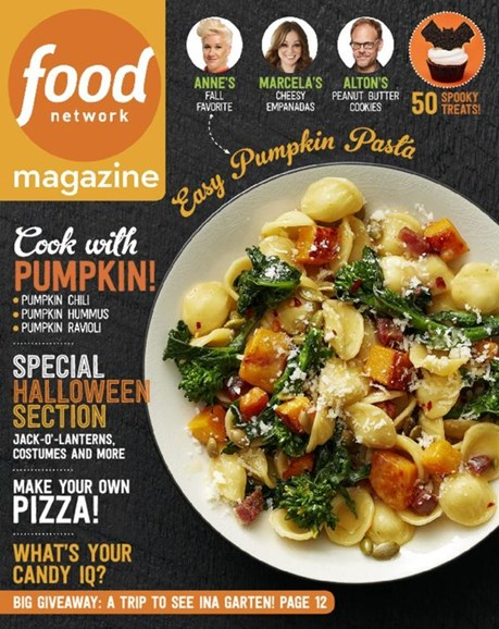 Food Network Cover - 10/1/2016