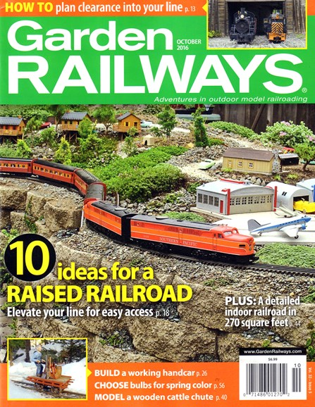 Garden Railways Cover - 10/1/2016