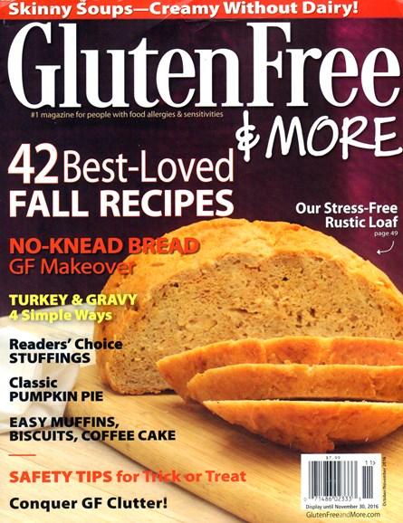 Gluten Free & More Cover - 10/1/2016