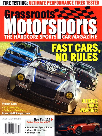 Grassroots Motorsports Cover - 10/1/2016