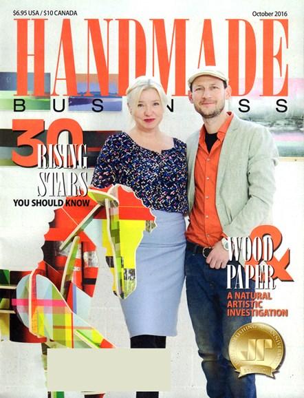 Handmade Business Cover - 10/1/2016