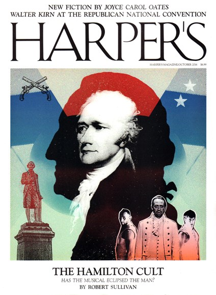 Harper's Cover - 10/1/2016