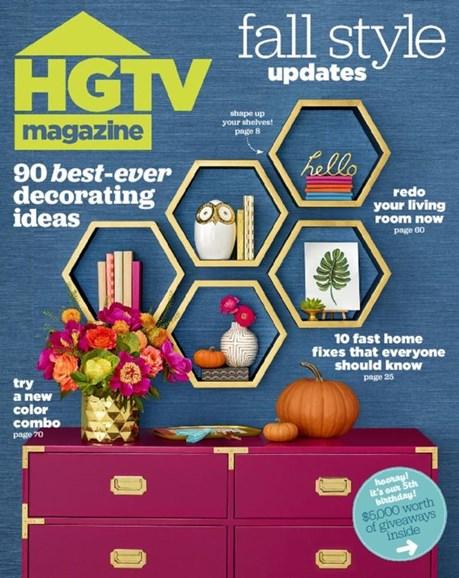 HGTV Cover - 10/1/2016