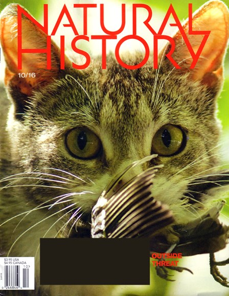 Natural History Cover - 10/1/2016