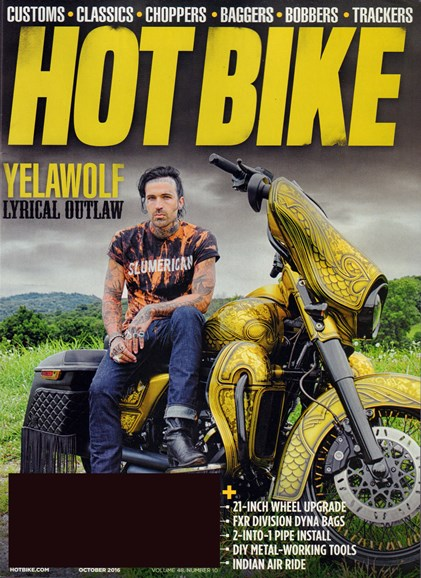 Hot Bike Cover - 10/1/2016