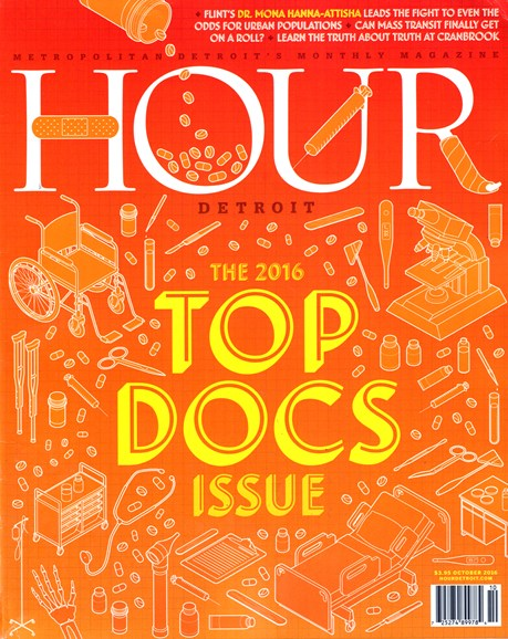 Hour Detroit Cover - 10/1/2016
