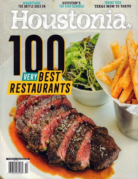 Houstonia Cover - 10/1/2016