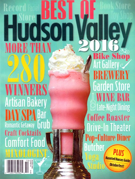 Hudson Valley Cover - 10/1/2016