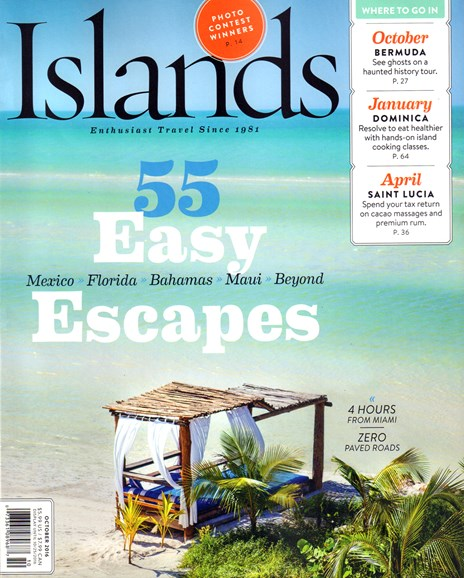 Islands Cover - 10/1/2016