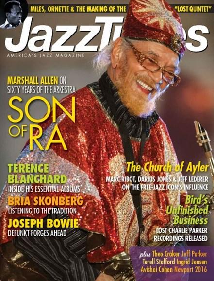 JazzTimes Cover - 10/1/2016