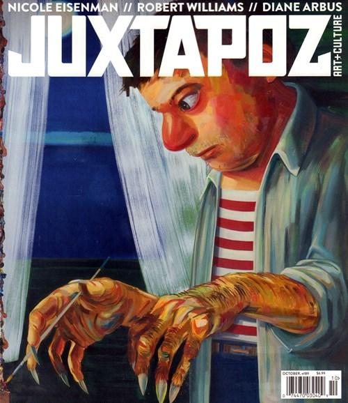 Juxtapoz Cover - 10/1/2016