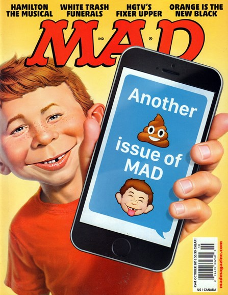 Mad Cover - 10/1/2016