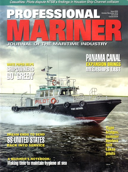 Professional Mariner Cover - 10/1/2016