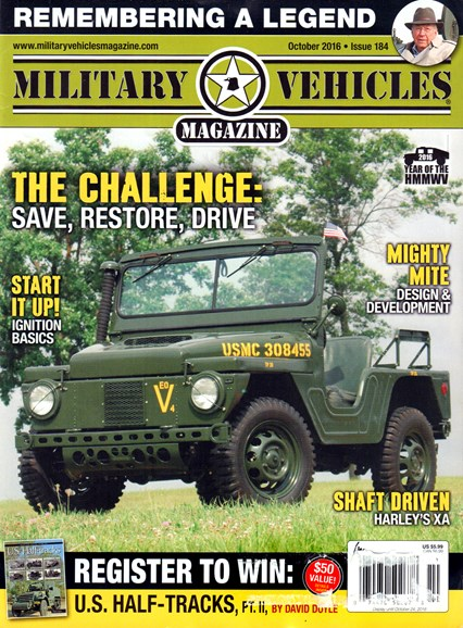 Military Vehicles Cover - 10/1/2016