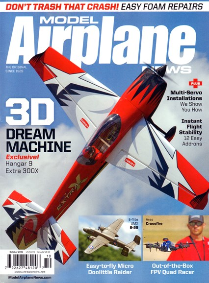 Model Airplane News Cover - 10/1/2016