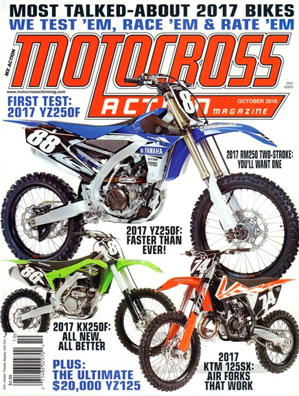 Motocross Action Cover - 10/1/2016