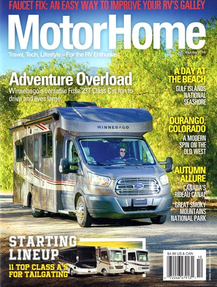 MotorHome Cover - 10/1/2016