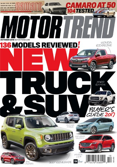 Motor Trend Cover - 10/1/2016