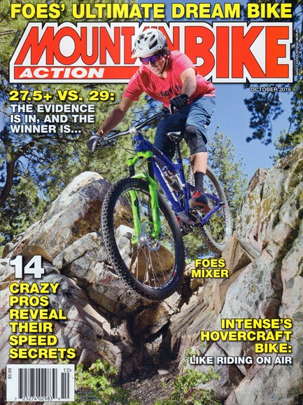 Mountain Bike Action Cover - 10/1/2016