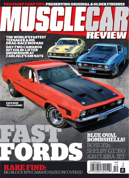 Muscle Car Review Cover - 10/1/2016