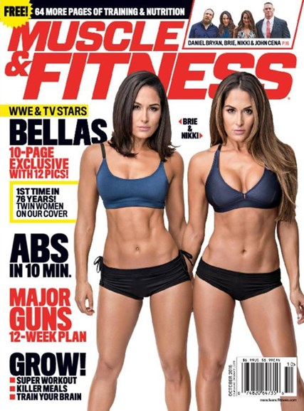 Muscle & Fitness Cover - 10/1/2016