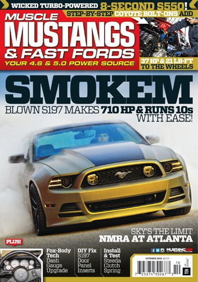 Muscle Mustangs & Fast Fords Cover - 10/1/2016