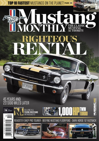 Mustang Monthly Cover - 10/1/2016