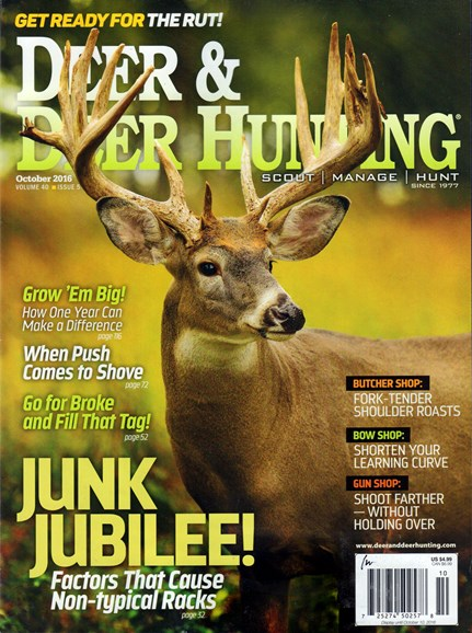 Deer & Deer Hunting Cover - 10/1/2016