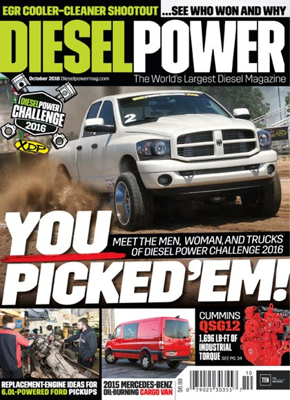 Diesel Power Cover - 10/1/2016