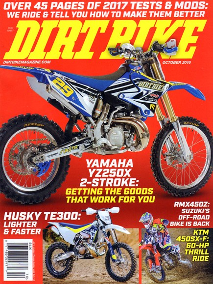 Dirt Bike Cover - 10/1/2016