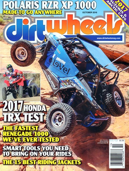 Dirt Wheels Cover - 10/1/2016