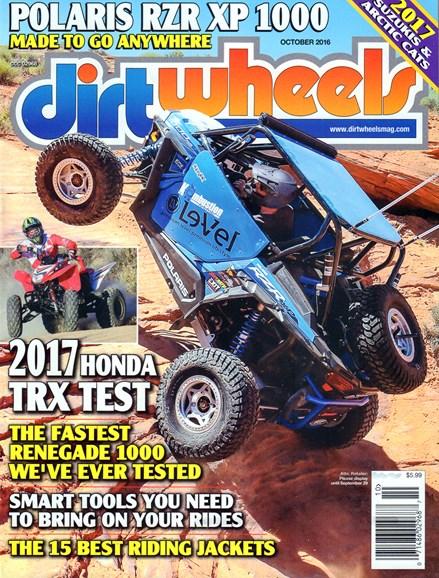 Dirt Wheels Cover - 10/1/2016
