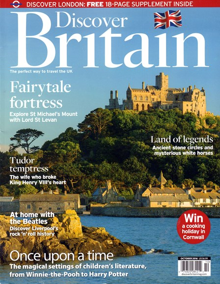 Discover Britain Cover - 10/1/2016