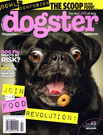 Dogster Cover - 10/1/2016