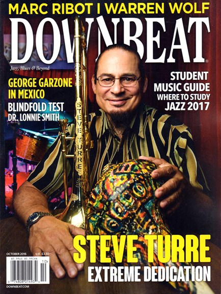 DownBeat Cover - 10/1/2016