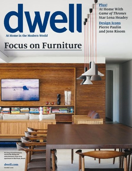 Dwell Cover - 10/1/2016