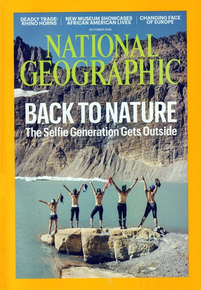 National Geographic Cover - 10/1/2016