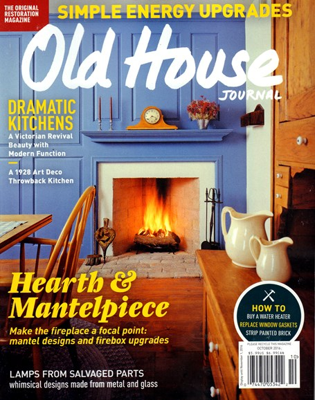 Old House Journal Cover - 10/1/2016