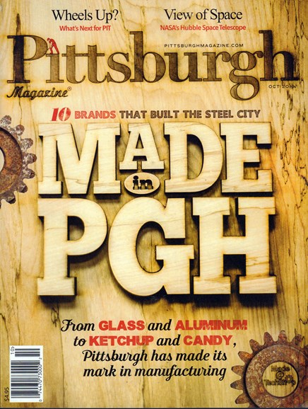 Pittsburgh Magazine Cover - 10/1/2016