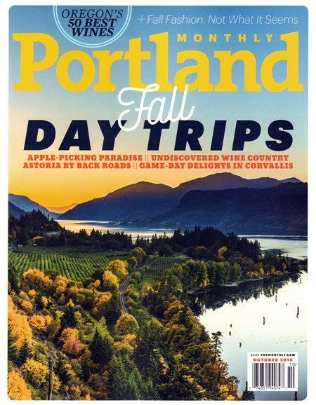 Portland Monthly Cover - 10/1/2016