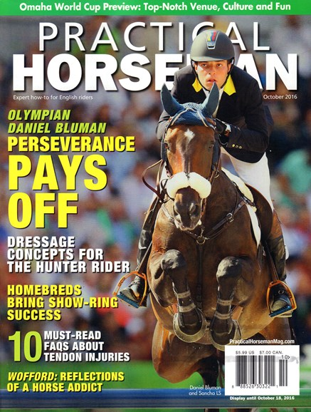 Practical Horseman Cover - 10/1/2016