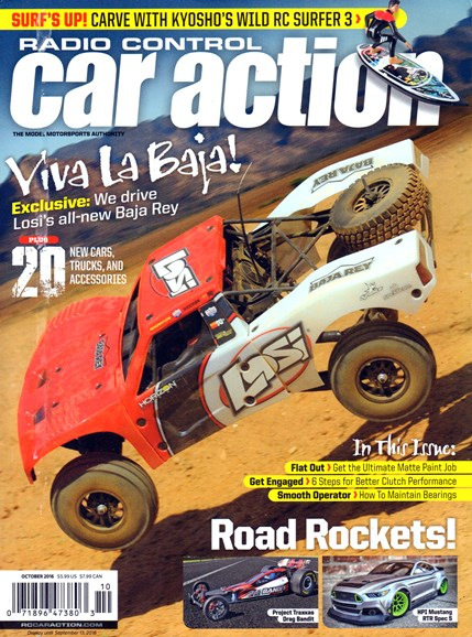 Radio Control Car Action Cover - 10/1/2016