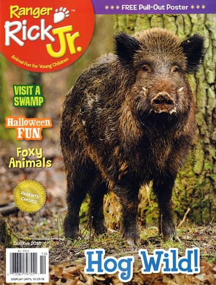 Ranger Rick Jr. Cover - 10/1/2016