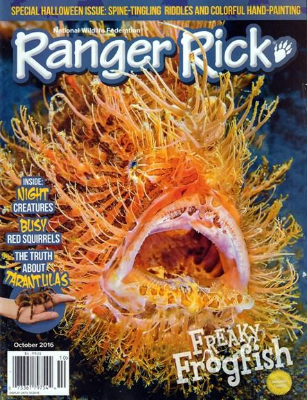 Ranger Rick Cover - 10/1/2016