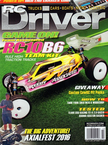 RC Driver Cover - 10/1/2016