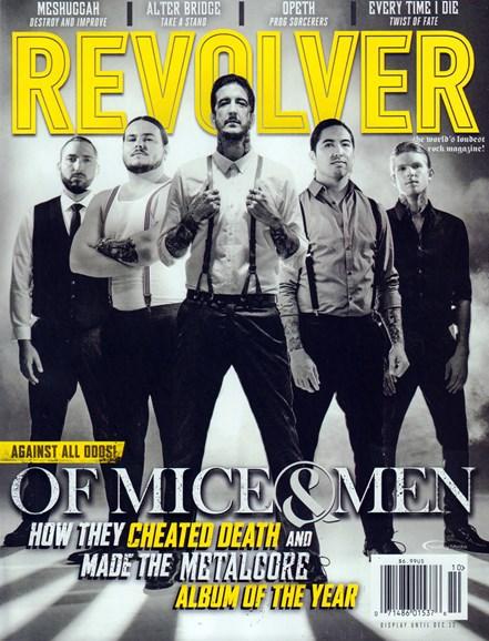 Revolver Cover - 10/1/2016