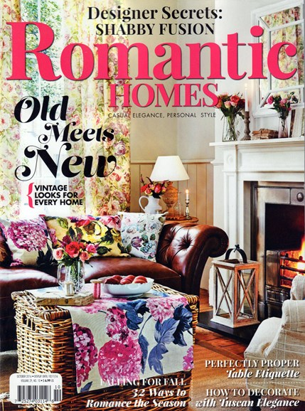 Romantic Homes Cover - 10/1/2016